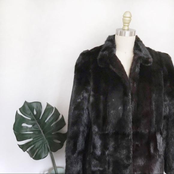 Vintage Jackets & Blazers - Vintage • Authentic Mink Coat